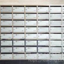 宁波厂家定制不锈钢开口式信报箱 XBG-103邮政专用牛奶信报箱 办公室室内挂壁寄包柜 一件代发