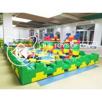 河北积木乐园 室内外商场大型堆砌儿童epp玩具大积木 积木城堡厂家