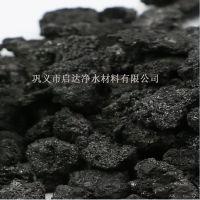 启达公司6-10mm 15-40mm焦炭滤料攀枝花炉料厂使用厂价销售