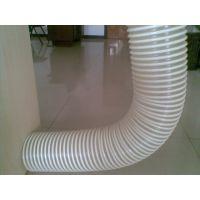 德州 雨泽 厂家直销 PU钢丝软管 伸缩软管 木工吸尘软 管 颜色透明 .