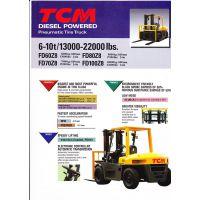 进口TCM叉车6-10T 进口TCM叉车配件FD60Z8/70Z8/80Z8/100Z8