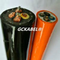 高柔性扒渣机用移动电缆、抗拉耐磨铲运机电缆3X25+1X16