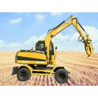 农用轮式挖土机 JDL90农用小型挖掘机金鼎立