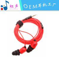 耳机工厂家定制批发SEM5 全民K歌麦克风 重低音三米线长监听耳机