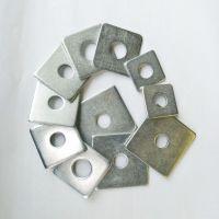 云哲 自产自销 国标 镀锌方垫 高强度方垫 规格齐全 可加工定制异形垫