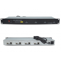 美视达4路H.265编码器4路HDMI转IP
