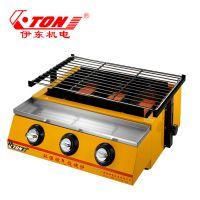 伊东厂家 K122烧烤炉 商用红外线燃气烤肉机加厚炉子 户外便捷烧烤工具