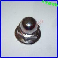 球头带垫片防松螺母 不锈钢半圆头法兰螺母M234568101216182024