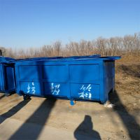 河北绿美供应户外3-5吨社区专用钩臂式垃圾箱厂家价格
