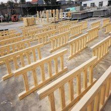 黄岛主营生产优质水泥仿木景观护栏 仿石护栏 仿木花架 仿木花箱