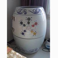 活瓷能量养生缸 负离子汗蒸翁樽家用 陶瓷五行巴马艾灸缸