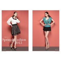 杭州品牌自由秀18春夏款折扣女装 原单尾货女装货源