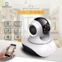 手机监控360度VR全景网络摄像机 室内鱼眼监控 家用无线摄像头