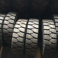 供应 6.50-10 实心免充气 铲车叉车轮胎 减震耐磨 工程机械轮胎 12层级 迎来