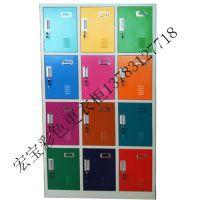 山西浴池彩色储物柜,挂锁彩色更衣柜,插卡寄存柜13783127718