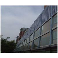 声屏障厂家直销 隔音墙 吸音板 隔音板厂家小区 金属百叶玻璃钢