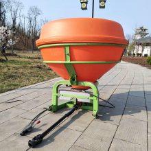 畅销履带自走式化肥抛撒机志成拖拉机撒肥器农用车载化肥撒肥机