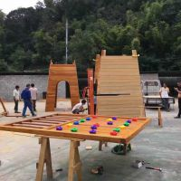 【厂家直销】武汉儿童拓展乐园绳网 游乐组合滑梯 儿童探险爬道—振兴