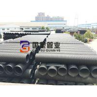 湖南HDPE双壁波纹管口碑厂家 益阳HDPE双壁波纹管管材生产厂家