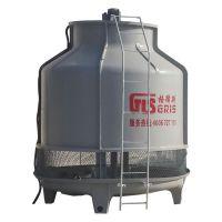 厂家直销 上海玻璃钢冷却塔 逆流式圆形凉水塔 100T高温型冷却塔