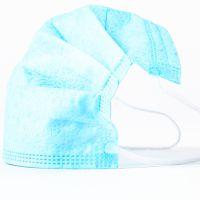 供应洁宜一次性无纺布三层压花防雾霾PM2.5纯色夏款透气性防晒防尘口罩