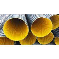 甘肃雨禾公司内径DN500mm的PE钢带增强螺旋波纹管