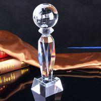 创意【水晶奖杯,水晶摆件】专属定制/批发,材质白水晶