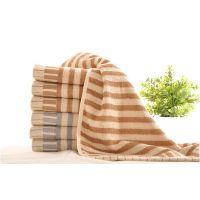 中国结竹纤维毛巾厂家直销钢琴键提缎毛巾儿童成人毛巾8418批发一件代发