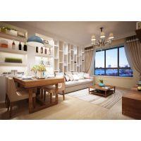 青岛阔达装饰:山海湾两居室婚房设计