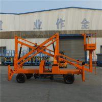 丽水市道路设备维修高空作业车 车载曲臂式液压升降平台制造厂