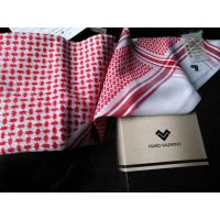 沙特款阿拉伯丝光棉头巾 Arabian mercerized jacquard scarf