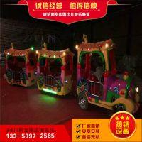 景区代步观览小火车,郑州厂家热卖电瓶玩具,古典无轨小火车