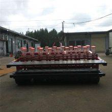 启航小粒荠菜种子播种机 拖拉机带娃娃菜精播机 谷子播种机厂家