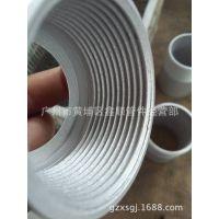 供应广西,上海铝合金翻边,螺纹管接头广州市鑫顺管件