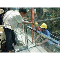 幕墙玻璃维修、幕墙玻璃安装、外墙漏水维修