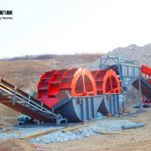 广东水轮洗砂机 高效率筛沙机价格