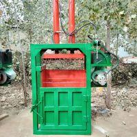 纸箱废铁屑回收打包机哪里有卖 富兴铁桶油漆桶压扁机 立式衣服棉花压缩机