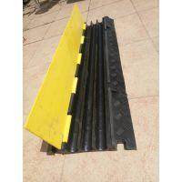 上海展览过线板 PVC三线槽板减速带 舞台铺线板