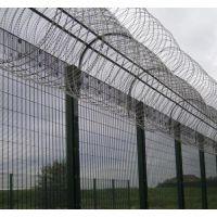 监狱防攀护栏网 刀刺型护栏网 护栏围墙