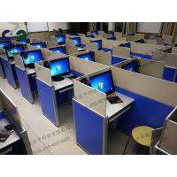 升降屏风卡座-中高考英语听说电脑桌-机考卡座电脑桌