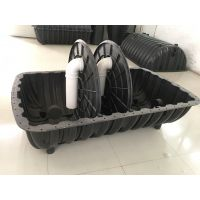 厂家批发PE三格化粪池 徐州家用小型厕所改造池污1.5立方排污塑料沉淀池