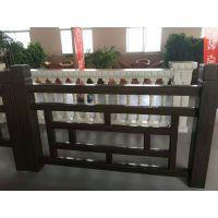 水泥仿木护栏 仿木桌椅 景观葡萄架 15305377677