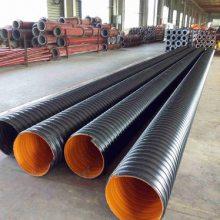 洛阳关林市场销售大口径HDPE钢带波纹管
