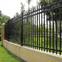 围墙防护栏杆@锌钢围墙防护栏杆@亚荣星锌钢护栏厂家