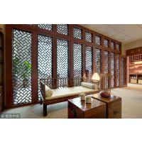 古典酒店建设用铝合金窗花