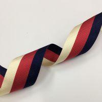 厂家直销 2017年 新款杏红蓝三色 间色 彩色织带 服装辅料花边