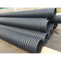 云南双壁波纹排污管价格 材质HDPE 规格DN200-600