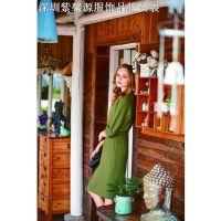 深圳时尚品牌折扣女装尾货专柜走份批发欢迎订货