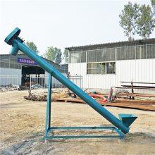 苏州钢管耐用自动上料机 药渣倒运装车提升机 青岛耐磨上料提升机