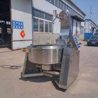 电加热海鲜酱炒锅 全自动炒酱锅 不锈钢搅拌炒锅